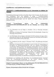 Qualifikations- und Qualitätsanforderungen - MEDI Deutschland