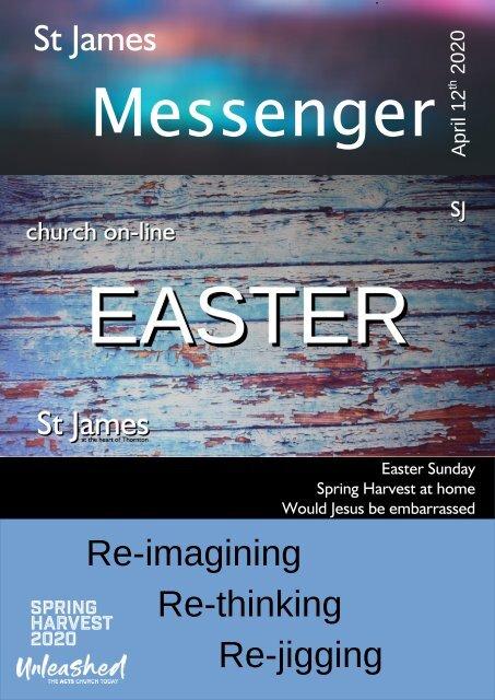 St James Messenger April 12 2020
