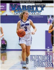 April 2020 Issue of Varsity Monthly Thumb Magazine