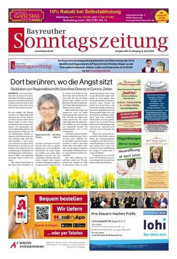 2020-04-12 Bayreuther Sonntagszeitung