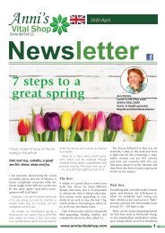 7 steps to a great spring by Anni Dahms