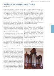 Waldkircher Kirchenorgeln - eine Zeitreise