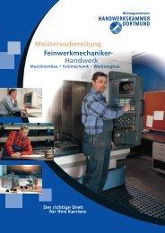 Meistervorbereitung im Feinwerkmechaniker ... - Meisterschulen