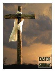 Easter Sunday Worship Aid