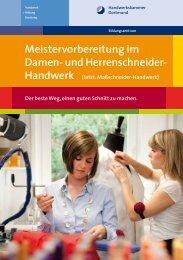 Meistervorbereitung im Damen- und Herrenschneider-Handwerk