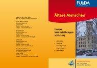 Blick hinter die Kulissen - in Fulda