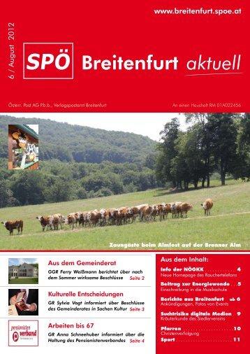 das gibt´s noch? Termine St. Johann & St. Bonifaz - SPÖ Breitenfurt