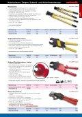 Kabelscheren, Zangen, Schneid- und Abisolierwerkzeuge - Seite 3