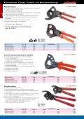 Kabelscheren, Zangen, Schneid- und Abisolierwerkzeuge - Seite 4