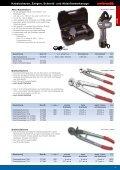Kabelscheren, Zangen, Schneid- und Abisolierwerkzeuge - Seite 5
