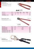 Kabelscheren, Zangen, Schneid- und Abisolierwerkzeuge - Seite 6