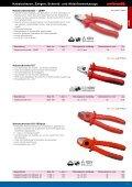 Kabelscheren, Zangen, Schneid- und Abisolierwerkzeuge - Seite 7