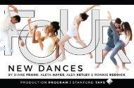FOUR: New Dances