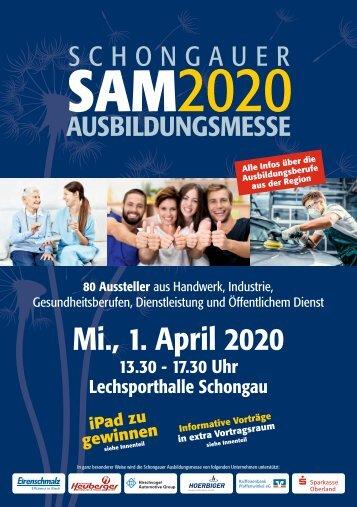 Schongauer Ausbildungsmesse 2020 - Infobroschüre