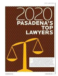 Pasadena's Top Lawyers 2020 - Pasadena Magazine