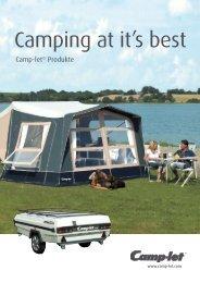 Camping at it's best - Camp-let Zeltanhaenger-Shop
