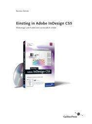 Einstieg in Adobe InDesign CS5 - Galileo Design