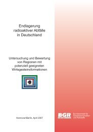 Endlagerung radioaktiver Abfälle in Deutschland - Greenpeace
