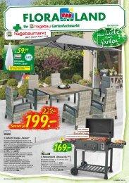Floraland + Ihr Hagebau Gartenfachmarkt | 15.04.2020
