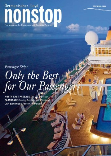 "Passenger ships – ""only the Best for our Passengers"" - GL Group"