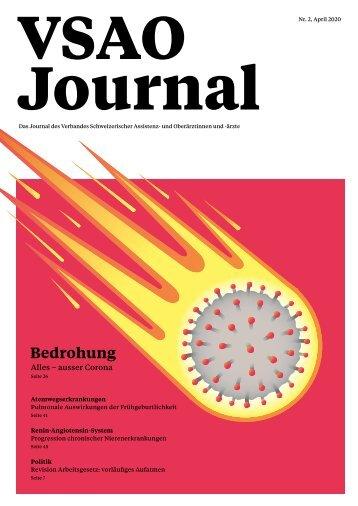 VSAO JOURNAL Nr. 2 - April 2020