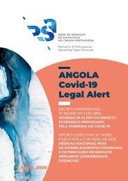 Angola Covid-19 - Legal Alert