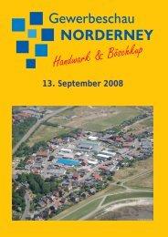 13. September 2008 - Chronik der Insel Norderney