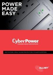 ALLNET x CyberPower   Produktkatalog