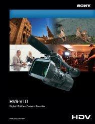 HVR-V1U - Sony