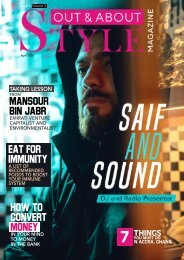 Out and About STYLE Mag Issue 3 Vol. 2