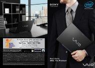 VAIO. The Premium - Sony