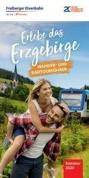 Erlebe das Erzgebirge – Wander- und Radtourführer Sommer 2020