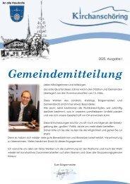 Gemeindezeitung 2020 I