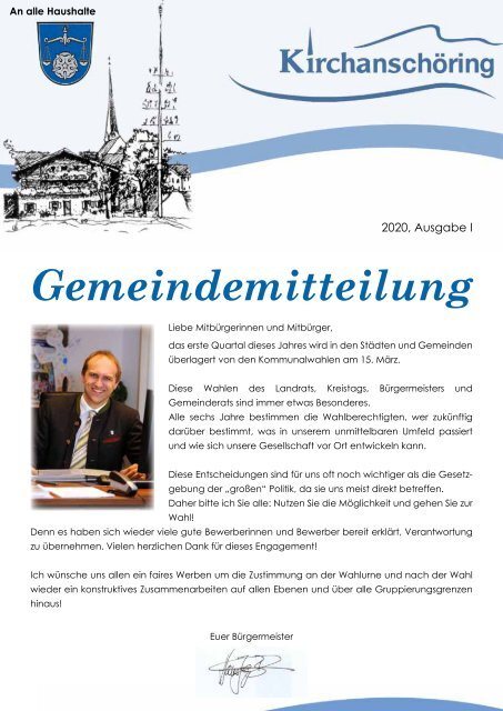 Gemeindemitteilung Kirchanschöring 2020-1
