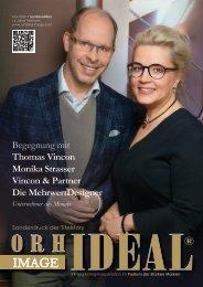 Thomas Vincon Vincon & Strasser betriebliche Altersvorsorge die Bayerische im Orhideal IMAGE Magazin - Mai 2020