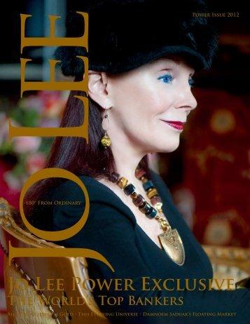 Power Issue 2012 Jo Lee - JO LEE Magazine