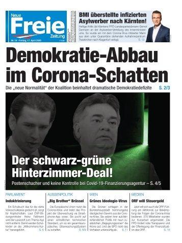 Demokratie-Abbau im Corona-Schatten