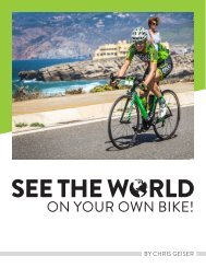 See the world on your own bike