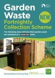 Garden Waste Recycling Schedule 2020