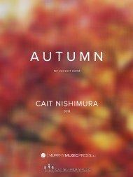 Nishimura - Autumn (band) - score_new