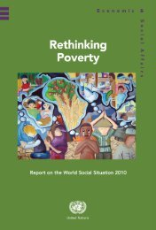 Rethinking Poverty - the United Nations