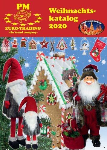 Weihnachtskatalog 2020 - Weihnachtsdekoration für den Großhandel