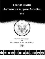CHAPTER I - NASA's History Office