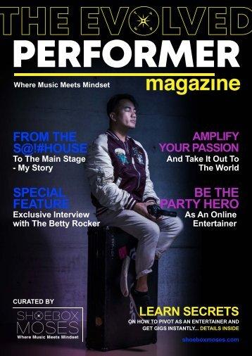 The Evolved Performer Magazine - Issue 1