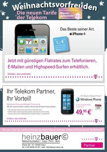 Neues Handy sichern! - heinzbauer