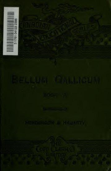 Bellum Gallicum (book V);