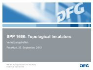 SPP 1666: Topological Insulators - Helmholtz-Zentrum Berlin