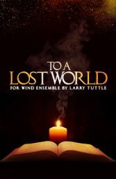 To a Lost World - Score