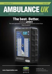 Ambulance UK - April 2020