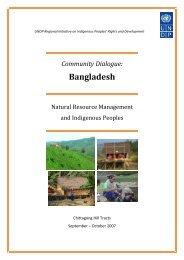 Community Dialogue: Bangladesh - UNDP Asia-Pacific Regional ...